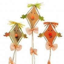 Decoratie met pompoen en vlieger