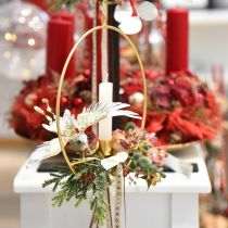 Kolibrie, kerstboomversieringen, decoratieve vogel, kerstversieringen L20cm B20cm
