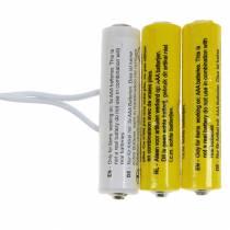 Batterijadapter wit 3m 4.5V 3 x AAA