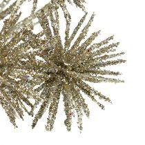 Allium met mica champagne Ø18cm L70cm