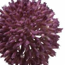 Sierallium kunstmatig paars Ø8cm 58cm