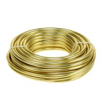 Aluminiumdraad 5mm 500g goud