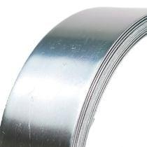 Aluminiumdraad platdraad zilver 30mm 3m