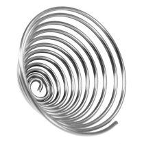 Draadschroef metaal schroef zilver 2mm 120cm 2st