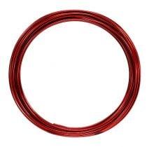 Aluminiumdraad 2 mm 100 g rood