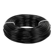 Aluminiumdraad Ø2mm 500g 60m zwart
