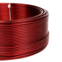 Aluminium draad rood Ø2mm 500g (60m)