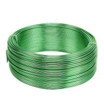 Aluminium draad Ø2mm groen 500g (60m)