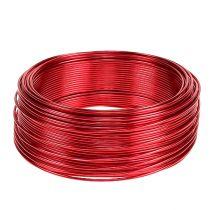Aluminium draad rood Ø2mm 500g 60m