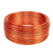Aluminium draad oranje Ø2mm 500g 60m