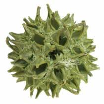 Zoete kauwgom kegels groen frosted 250g