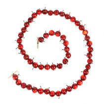 Appelslinger rood L 110cm