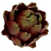 Artisjok bruin, groen Ø10cm H11cm