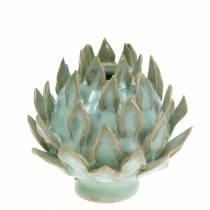 Decoratieve vaas art shock keramisch groen Ø9.5cm H9cm
