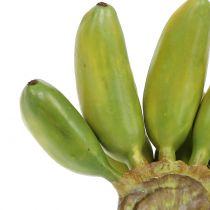 Baby banaan vaste plant kunstgroen 13cm