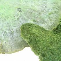 Boomspons groen wit gewassen 1kg