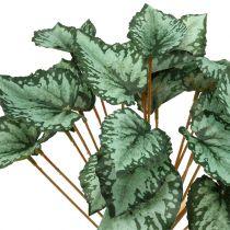 Kunstmatige begonia bush groen 30cm