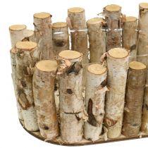 Plantenbak ovaal berken 30.5cm x 13cm