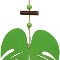 Blad 14,5 cm om groen op te hangen