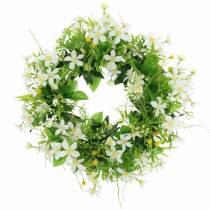 Kransanemoon / dille groen, wit Ø30cm