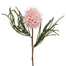 Bloementak schuim roze / groen 65cm