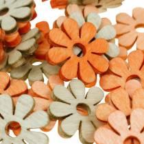 Bloemen om te strooien, lentedecoratie, houten bloemen, bestrooi met decoratiebloemen 144St