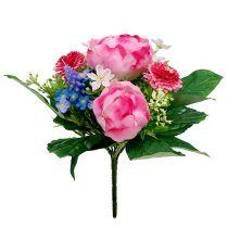 Boeket van Bellis Rosa 23cm