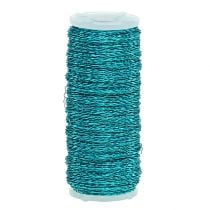 Bouilloneffect draad Ø0.30mm 100g / 140m turquoise