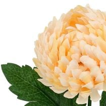 Chrysanthemum perzik kunstmatig Ø7cm L18cm