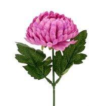 Chrysanthemum Roze Kunstmatig Ø7cm L18cm