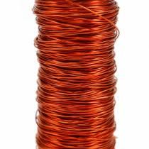 Decoratief geëmailleerd draad oranje Ø0.30mm 30g / 50m
