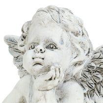 Decoratieve engel H7.5cm 6st