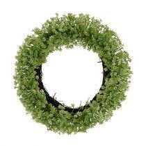 Decoratieve krans groen Ø25cm