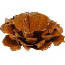 Decoratieve roos van roestvrij staal, bloem om te decoreren, metalen bloem Ø20cm