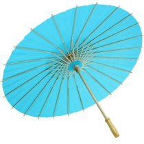 Decoratieve kap turquoise Ø60cm H42cm
