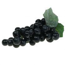 Decoratieve druiven zwart 18cm
