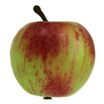 Decoratief appelrood, groen Ø6cm 6st
