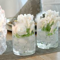 Decoratieve ijsblokjes drijvend 2,5 cm - 4 cm 500 g