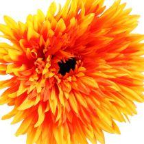 Decoratieve Gerbera Oranje Ø15cm L88cm