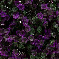 Decoratieve bal paars van bloemen Ø18cm 1 st