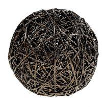 Decoratieve bal donkerbruin Ø15cm