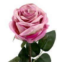 Decoratief roze gevuld schemerig roze Ø10cm L65cm 3st
