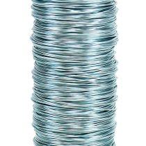 Decoratief lakdraad Ø0.30mm 30g / 50m ijsblauw
