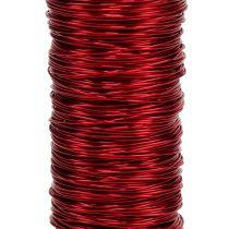 Decoratief lakdraad Ø0.30mm 30g / 50m rood
