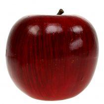 Decoratie appels rood, gelakt Ø8cm 6st