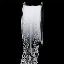Sierlint kant wit 40mm 20m