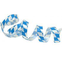 Decoratietape blauw-wit 5mm 250m