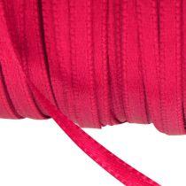 Geschenk- en decoratielint 3 mm x 50 m roze