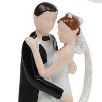 Decoratief figuur bruidspaar 10.5cm