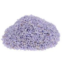 Decoratief granulaat lila 2mm - 3mm 2kg